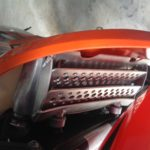 Custom Motorcycle parts - KTM Radiator Guards